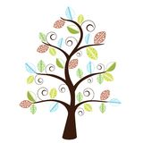Funky decorative tree Stock Image