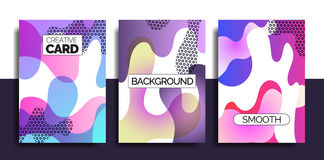 Funky design template fot print products. Royalty Free Stock Images