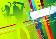 Funky Disco Time Stock Images