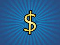 Funky Dollar Stock Images