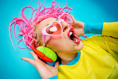 Funky female Royalty Free Stock Photography