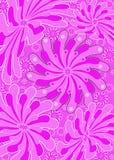 Funky flower swirls stock photos