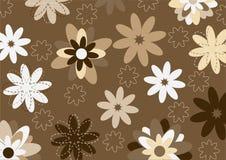 Funky flowers stock illustration