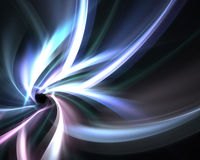 Funky Fractal Layout. A glowing fractal design that works great as a background or backdrop Stock Images