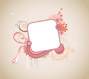 Funky frame Stock Images