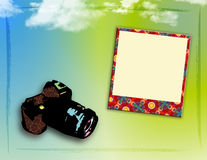 Funky Frame van de Foto Stock Foto