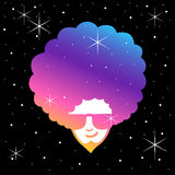 Funky Frizzy Stock Photography