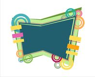 Funky Fun background element Stock Image