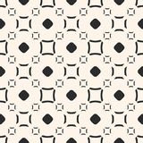 Funky geometric pattern. Vector seamless texture with circles. Stock Photo