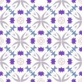 Funky Geometric Repeating Pattern royalty free stock photos
