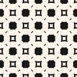 Funky geometric seamless pattern. Vector abstract background Royalty Free Stock Image