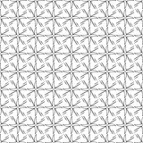 Funky Geometric Stars Tribal Spikes Trendy Decorative Repeating Seamless Vector Pattern Background Design. Funky Geometric Stars Tribal Spikes Trendy Decorative Royalty Free Stock Photography