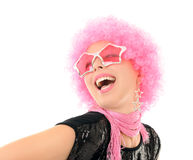 Funky girl Royalty Free Stock Image