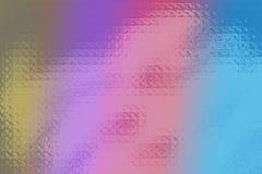 Funky glaskleuren Stock Afbeelding