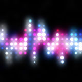 Funky Glowing Dots Stock Photos