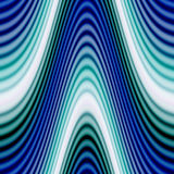 Funky Glowing Waves Stock Photos