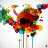 Funky grafisch ontwerp Royalty-vrije Stock Afbeelding