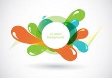 Funky grafisch ontwerp Royalty-vrije Stock Foto's