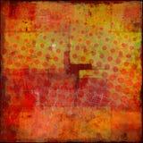 Funky grungy patroon Stock Afbeeldingen