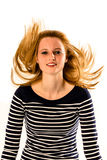 Funky hair Stock Images