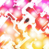 Funky Halftone Stock Photography