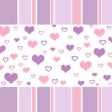 Funky hearts Royalty Free Stock Images