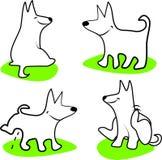 Funky hond Royalty-vrije Stock Afbeeldingen