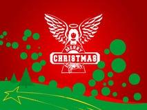 Funky Kerstmis Royalty-vrije Stock Afbeeldingen