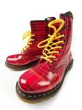 Funky laarzen Royalty-vrije Stock Foto's