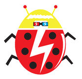 Funky Lady Bug Stock Photography