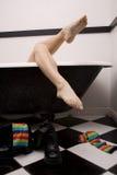 Funky legs tub Stock Photos