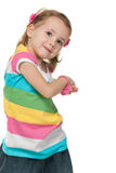 Funky little girl Royalty Free Stock Photography