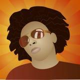 Funky mensenportret Royalty-vrije Stock Fotografie