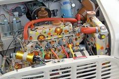 Funky mini engine Stock Images