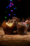 Funky Muffins Royalty Free Stock Photos