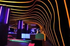 Funky night club Stock Photo