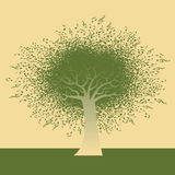 Funky Note Tree Royalty Free Stock Images
