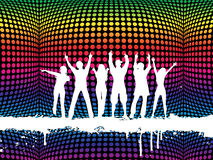 Funky party stock illustration