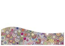 Funky Patroon Stock Illustratie