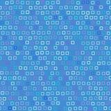 Funky Patroon van Vierkanten stock illustratie