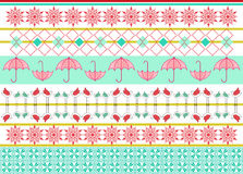 Funky pattern covering Stock Images