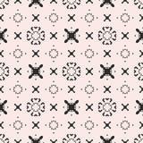 Funky pattern, crosses, arrows, circles. Stock Photos