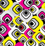 Funky pattern.Vector. Funky trendy, urban pattern.Vector Royalty Free Stock Image
