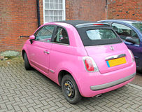 Funky Pink Car Royalty Free Stock Photo