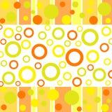 Funky punten en cirkels Stock Foto