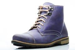 Funky purple boot Stock Photos