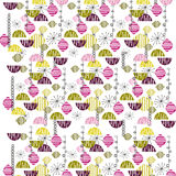 Funky repeat pattern Stock Photo
