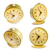 Funky retro alarm clock. Stock Photos