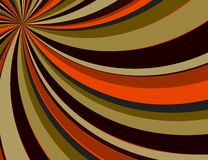 Funky retro background Royalty Free Stock Image
