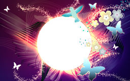 Funky retro background Royalty Free Stock Photography
